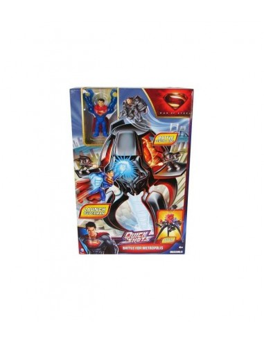 Superman Man of Steel Quickshots Battle Metropolis Y0821