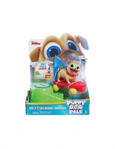 Puppy Dog Pals - Rolly con skate a vela