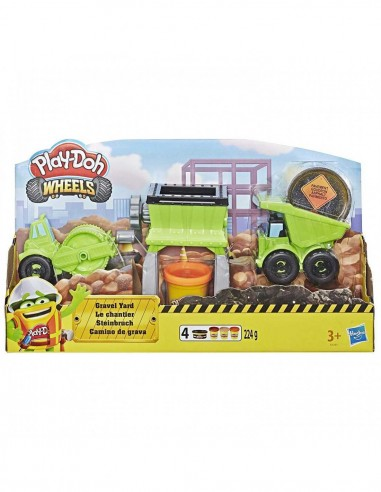 Play-Doh wheels il cantiere